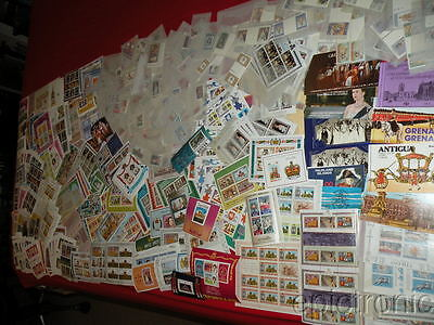 {epictronic/ rw/ British Areas MNH box lot/Coronations Issues/$HCV/sets/bklets+}