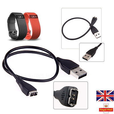 Replacement USB Power Charger Cable For Activity FitBit Charge HR Bracelet UK
