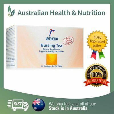 Weleda - Organic Nursing Tea - All Sizes - Increase Breast Milk Supply Naturally