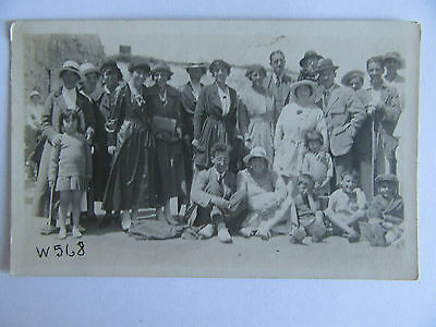Collectable RP Vintage Postcard - Group of Anonymous People - W568 Cliftonville