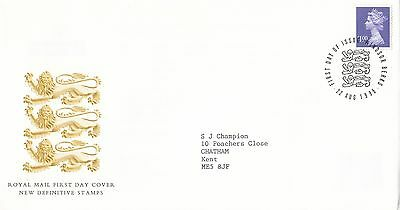 (89066) CLEARANCE GB FDC £1 Definitive - Windsor 22 August 1995