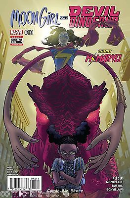 Moon Girl And Devil Dinosaur #10 (2016) 1St Printing Bagged & Boarded