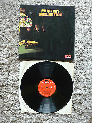 Fairport Convention Polydor 1st Issue Vinyl Record Stereo 1968 Folk Rock