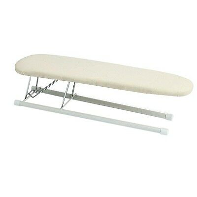 Tabletop Sleeve Ironing Board Folding Steel Top Pressing Portable Dorm  Small NEW