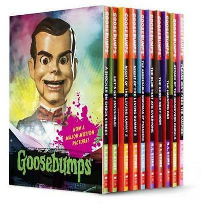 Goosebumps Movie Box Set by R.L.Stine Paperback Book