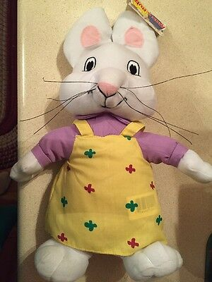 "Max and Ruby 14"" Ruby Plush Doll Toy Ruby Only. NWT"