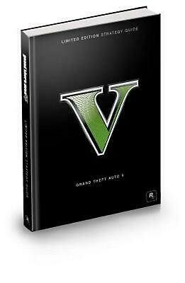 Grand Theft Auto V Limited Edition Strategy Guide (English) Free Shipping!