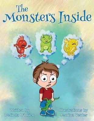 The Monsters Inside by Belinda O'Brien Paperback Book (English)