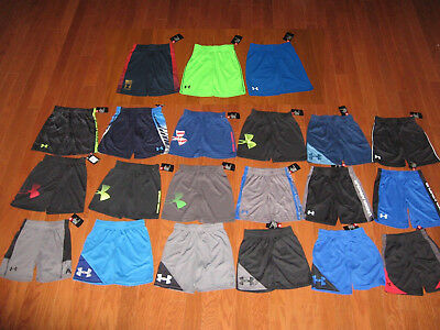 UNDER ARMOUR BOYS ATHLETIC Short SIZE 4/5/6/7  NWT