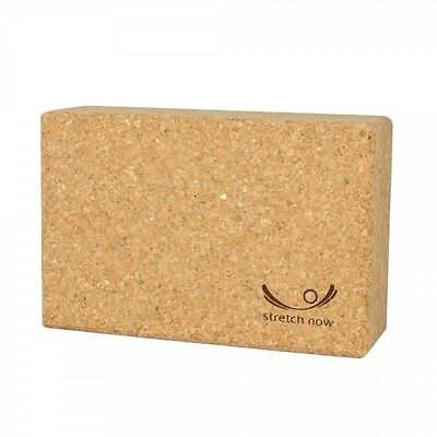 Yoga Block Props Made of Cork Home Exercise Practice Fitness Gym Sport