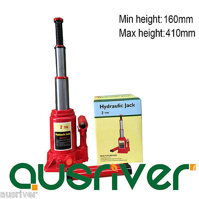 High Quality Portable 2 Ton Hydraulic Bottle Jack Car Low Profile Safety Valve