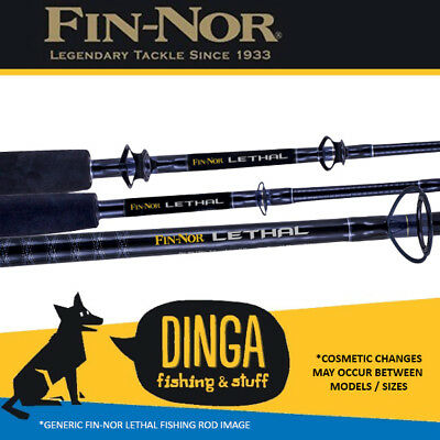 Fin-Nor Lethal | 5'9'' 15-24kg Overhead Fishing Rod