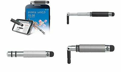 "WEDO Eingabestift TouchStand ""all in one"", silber-metallic"