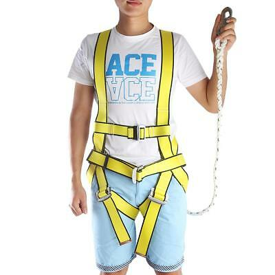Climb Construction Fall Protection Wear Resistant Full Body Safety Harness