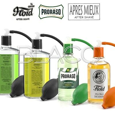 Kit Proraso O Floid Dopobarba Da 400Ml Incluso Spruzzino After Shave Barba