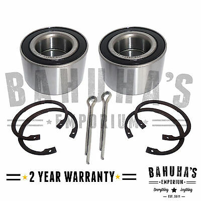 Front Wheel Bearing Kit Pair X2 For A Vauxhall Corsa C 2000>2006 *brand New*