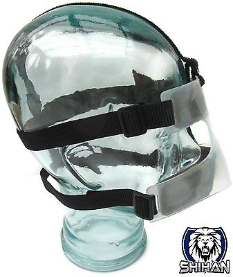 SHIHAN Cage Fighting Cricket NOSE Guard Motorbike Nose Protection Mask Guard