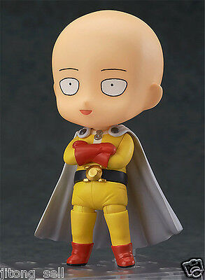 One punch man Hero Saitama Painted PVC Figure toy Anime Action Figurine