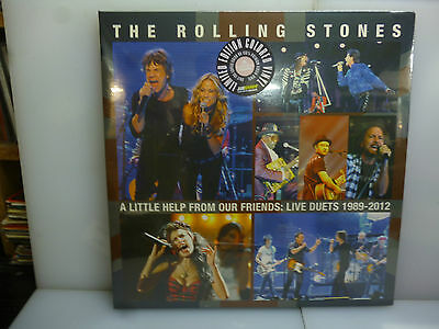 Rolling Stones-With A Little Help From Our...-Gatefold Pink Vinyl Lp-New.sealed
