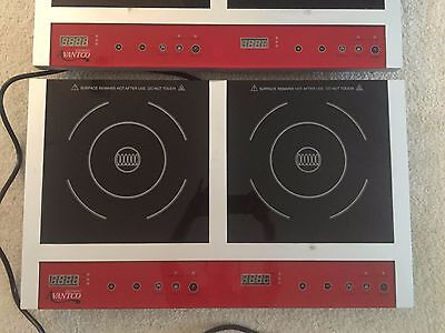 Double Countertop Induction Range for Sale