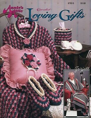 Hug-A-Buddies ~ Slippers Fanny Pack /& More Annie/'s crochet patterns OOP rare