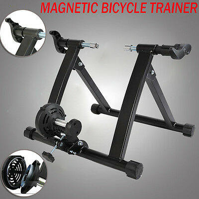 Magnetic Stand Exercise Indoor Bicycle Bike Trainer for Road/Mountain Bicycle