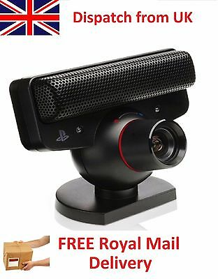 Playstation 3 Eye Move Eyetoy USB Camera with Mic for PS3 Video Chat Call Webcam