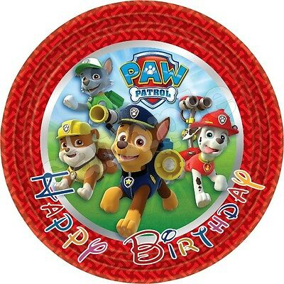 paw patrol hunde tortendeko e bar tortenaufleger muffinaufleger party deko dvd eur 4 99. Black Bedroom Furniture Sets. Home Design Ideas