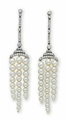 Sparkling Inspired 2.40ctw Rose Cut Diamond Pearl Earring