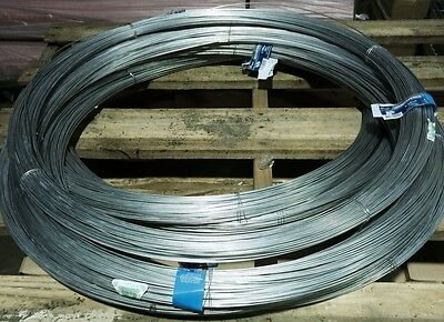 Fence Wire - 2.5Mm X 300M - Med Tensile - Galvanized Steel
