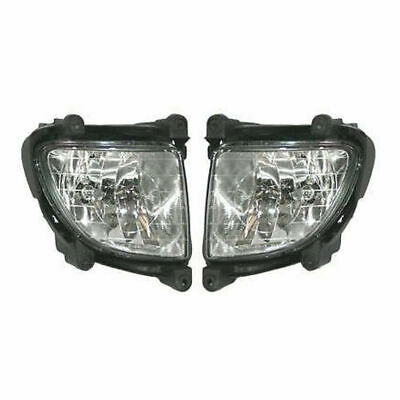 New Set Of 2 Left and Right Side Fog Lamp Assembly Fits 2005-2007 Kia Sportage