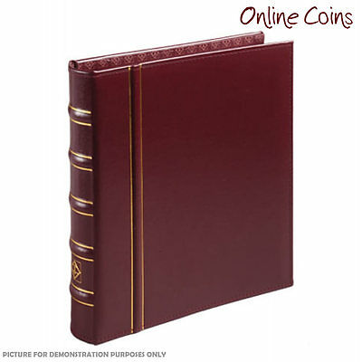 Lighthouse Classic Vario Album RED - For Banknotes and Stamps - No Slipcase