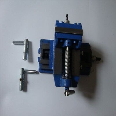 """3"""" 75mm  2 Way Drill Press Vice Clamp Milling Cross Slide Vice Industrial Level"""