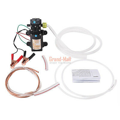 12V Transfer Pump Extractor Motor Oil Fluid Diesel Electric 60W Siphon Motorbike