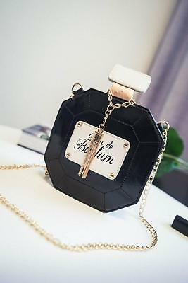 New handmade Luxury Perfume Bottle Shaped Clutch Evening party Bag handbag