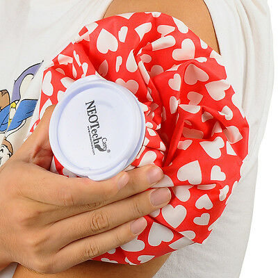 NEOtech Care Ice Bag for injuries & reduce swelling, Cold Pack screw top lid