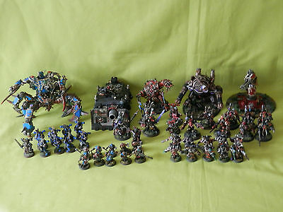 warhammer 40k chaos space marines - many units to choose from