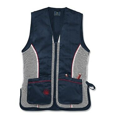 Beretta Silver Pigeon Vest Red, White, Blue GT30 Size X Large Make an Offer