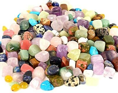 4oz Best large Mix Healing Crystals Tumble Stones Chakra Gemstones Mineral Reiki