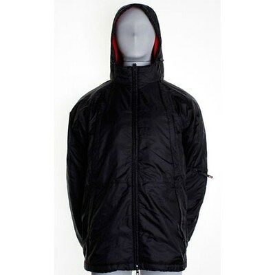 Split Men's Lazy Fleece Lined Jacket With Hood And Lots Of Pockets