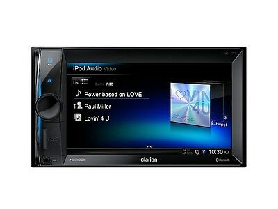 CLARION NX 302 E 2 DIN NAVI / 14,5 cmTOUCHSCREEN / USB/ SD-CARD / BLUETOOTH .
