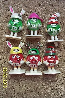 Lot of 6 M&M RED & GREEN Items - NEW