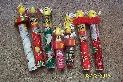 Lot of 7 YELLOW M&M Items - NEW