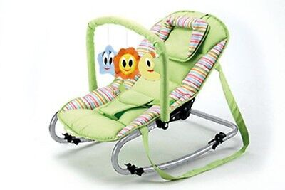 Baby Plus Wippe Bella green stripes Schaukelwippe Babywippe NEU