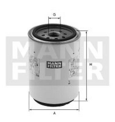 MANN-FILTER Fuel filter Mercedes-Benz Sprinter