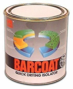 U-pol Barcoat Quick Drying Isolator 3 x 1Litre Cans Upol