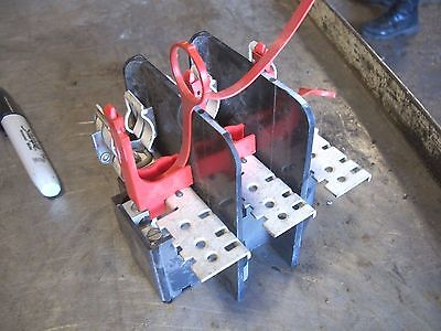 DWG 17-20958 Disconnect Switch Base  USED (FQ)