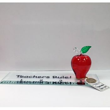 Glass Baron Teachers Rule Ruler