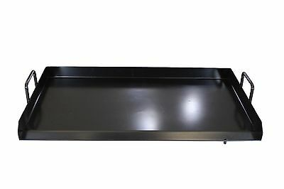 CONCORD 32 x 17 Cast Iron Portable Add on Flat Top Griddle Outdoor Stove