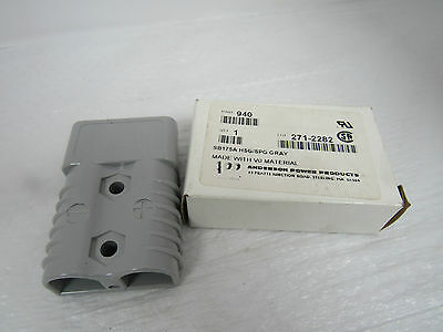 Anderson Power Products Sb175A Hsg/Spg Gray Power Connectors P.n.940